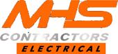 Electrician – MHS Contractors Logo